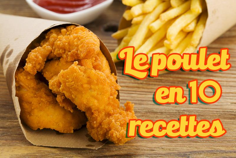 10 top recettes de poulet par Hervé Cuisine