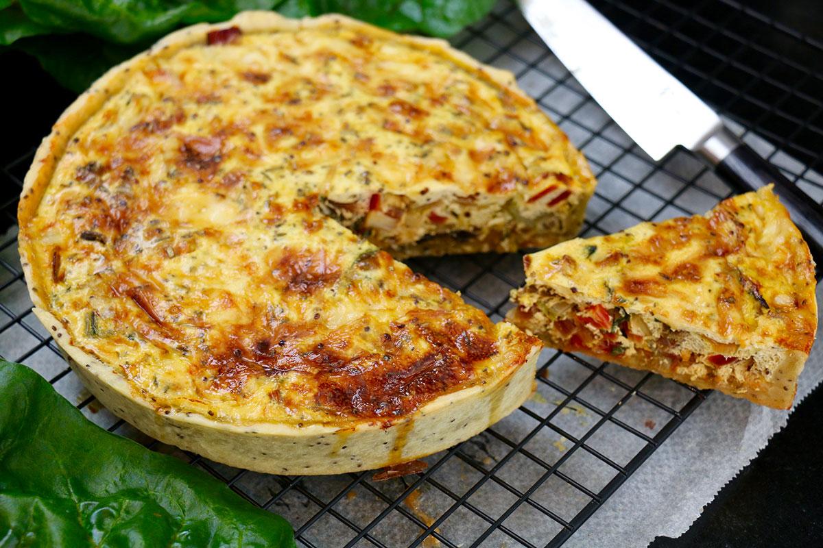 Recette tarte v g tarienne aux l gumes - Cuisine venitienne recettes ...