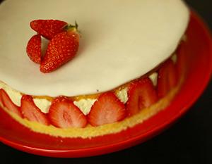 recette du fraisier