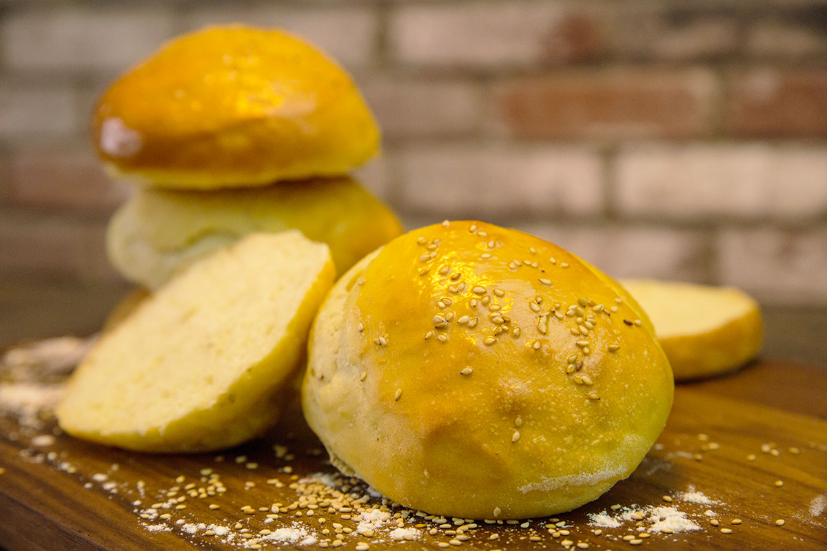 Recette de buns vegan sans oeuf sans lactose ces buns - Herve cuisine hamburger ...