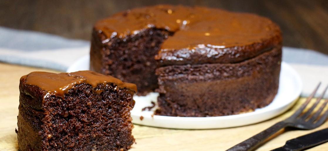 Moelleux au chocolat sans gluten et sans beurre ...