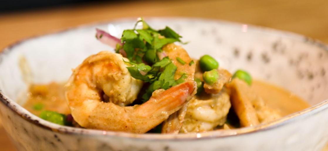 Recette Indienne De Curry De Crevettes Rapide Au Lait De Coco