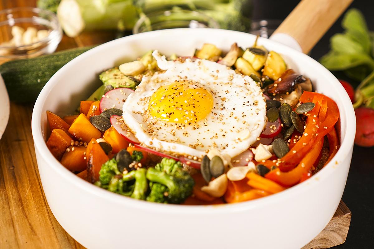 Recette du bol de quinoa plein d 39 nergie - Arte cuisine des terroirs recettes ...