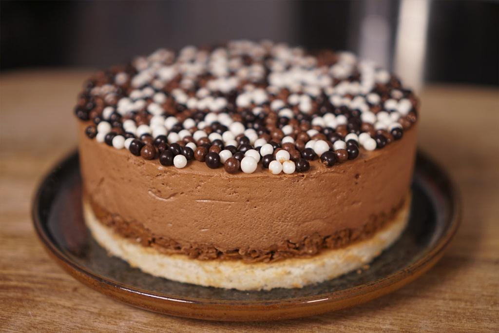 Recette du gateau royal chocolat facile - Herve cuisine cake chocolat ...