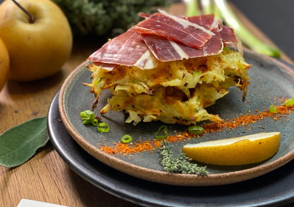recette rostis pomme de terre