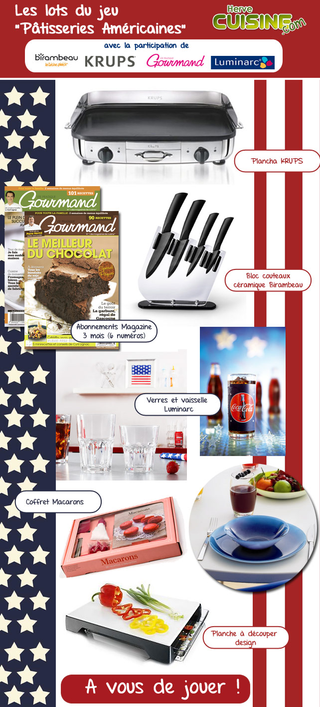 Lots Jeu Concours Cuisine Herv Cuisine Avril 2012