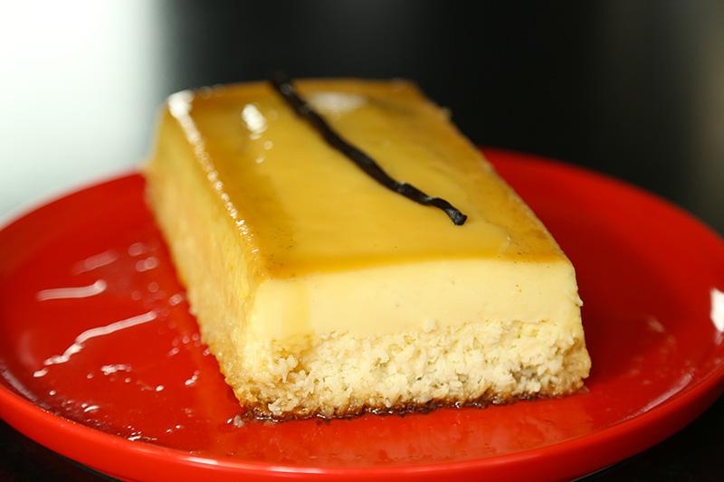 Recette facile du flan de coco la vanille avec herv cuisine - Herve cuisine buche de noel ...