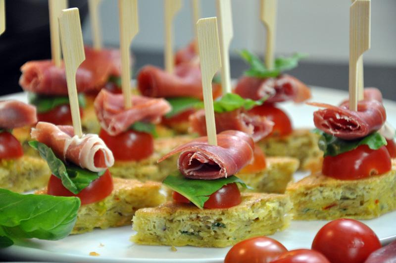 Tortilla au safran tomates et jambon serrano recette for Entree originale et rapide